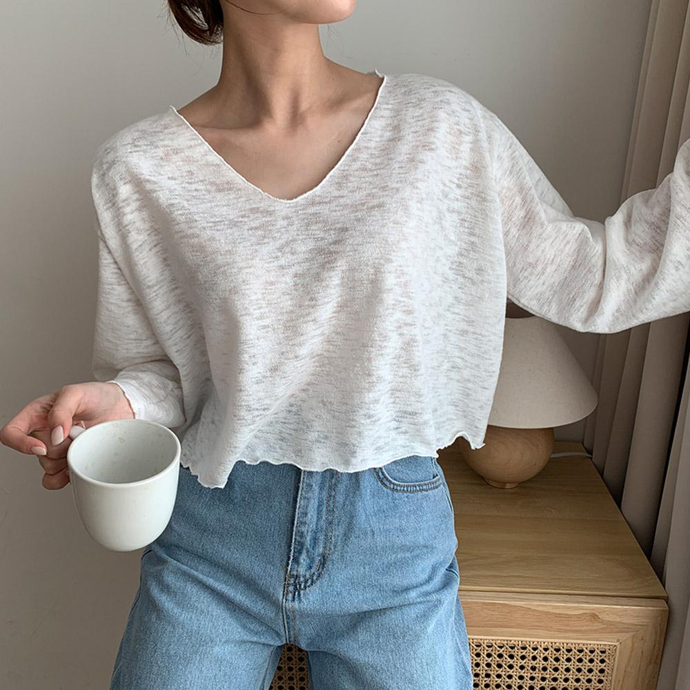 [오늘의특가/블랙 당일배송] [주문폭주] 다부 여름 크롭 데일리 티셔츠