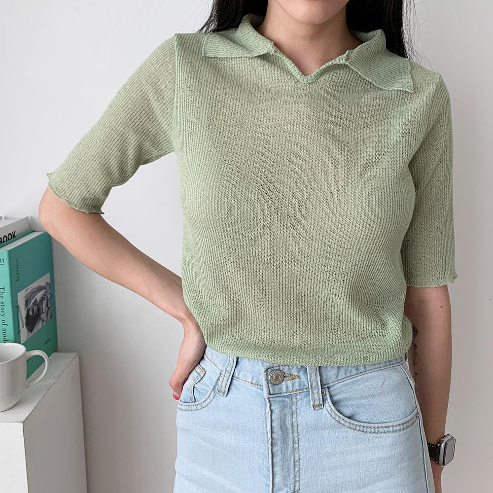 커비 기본 데일리 여름 반팔 티셔츠